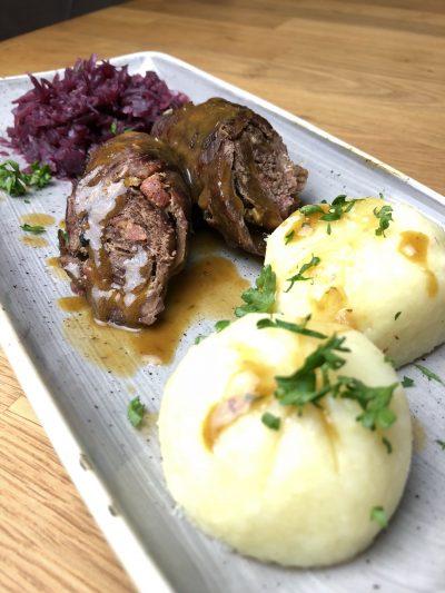 Rouladen vom Rind, gute deutsche Küche