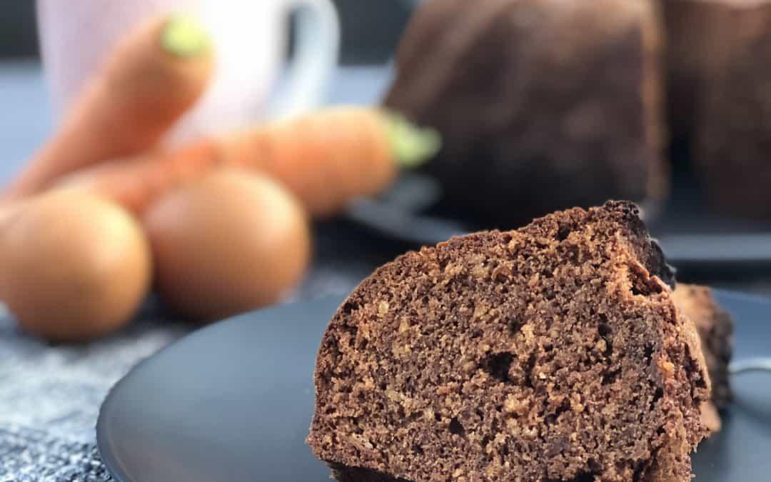 Einfaches Rezept: Schoko-Karottenkuchen