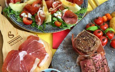 Dreierlei Serrano Schinken, köstliches aus Spanien