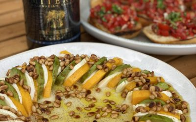 Mango Avocado Salat mit Bruschetta