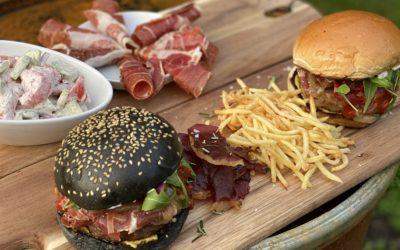 Wagyu Burger mit ConsorcioSerrano Schinken